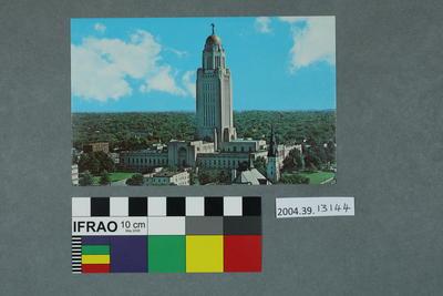 Postcard: Nebraska State Capitol, Lincoln, Nebraska