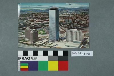 Postcard: Prudential Center, Boston, Mass.