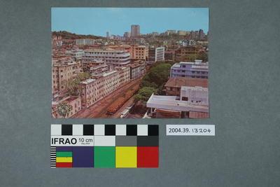 Postcard: No.19 Local Train View – Bombay, (India)