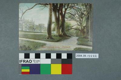 Postcard: Mount Edgcumbe House, Plymouth