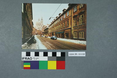 Postcard: Praha, View of St. Nicholas' Church