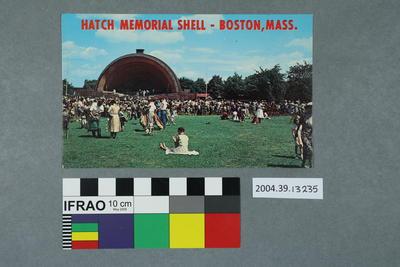 Postcard: Hatch Memorial Shell – Boston, Mass.