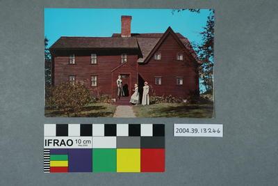 Postcard: Balch House