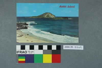 Postcard: Rabbit Island