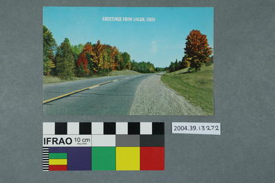 Postcard: Greetings from Logan, Ohio
