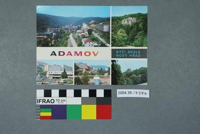 Postcard: Adamov