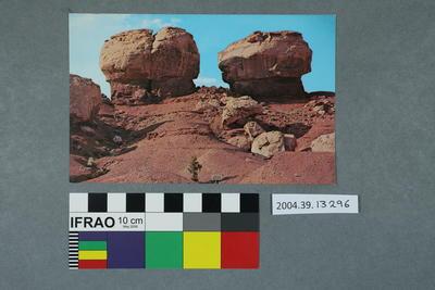 Postcard: Twin Rocks