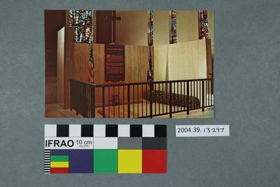 Postcard: Place of Meditation, Eisenhower Chapel
