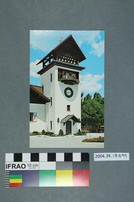 Postcard: Frankenmuth Bavarian Inn Glockenspeil Tower