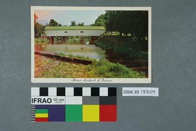 Postcard: Historic Landmark of Tennessee