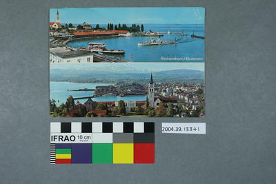 Postcard: Romanshorn/ Bodensee