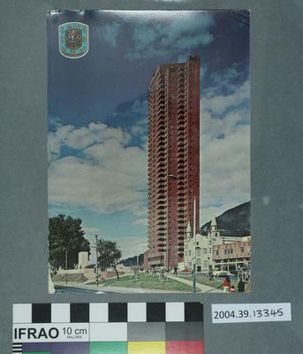 Postcard: Bogata, Columbia