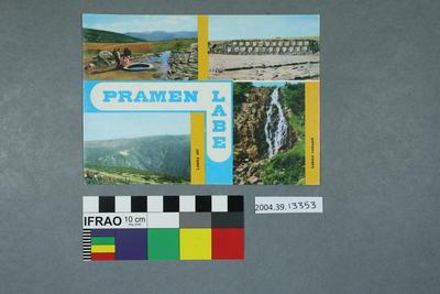 Postcard: Pramen Labe