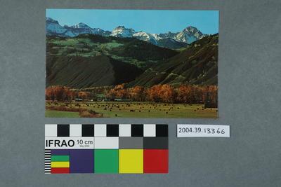 Postcard: San Juan Range