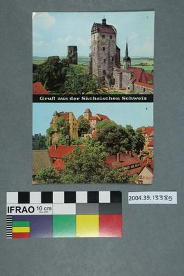 Postcard: Gruß aus Sächsischen Schweiz