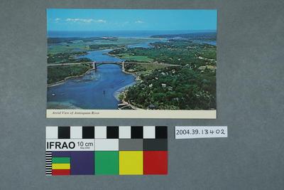 Postcard: Aerial View of Annisquam River