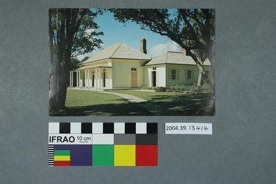 Postcard: Treaty House, Waitangi
