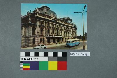 Postcard: Lódź