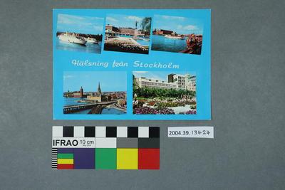 Postcard: Hälsning från Stockholm