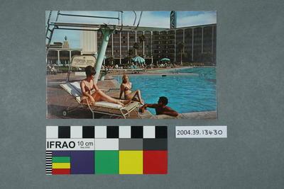 Postcard: Frontier Hotel, Las Vegas