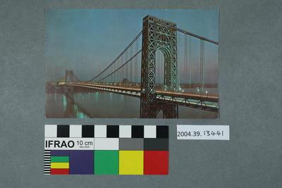 Postcard: George Washington Bridge