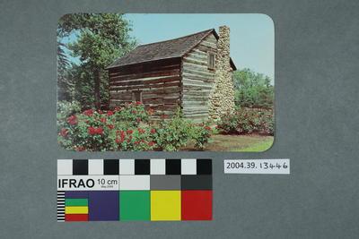 Postcard: Perre Naverre Cabin