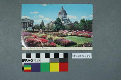 Postcard: State Capitol, Olympia, Washington