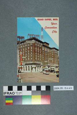 Postcard: Grand Rapids, Mich.
