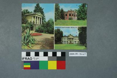 Postcard: Landschaftspark Wörlitz