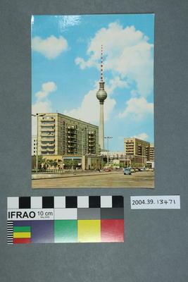 Postcard: Avenue Karl-Marx