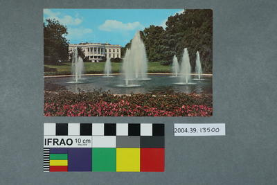 Postcard: White House