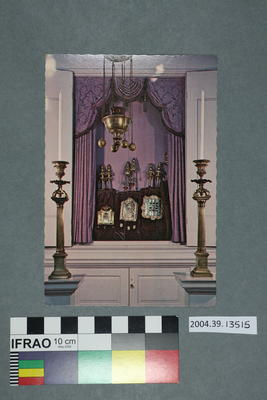 Postcard: Open Ark of Touro Synagogue