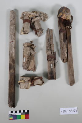 Sledge Parts: Wooden