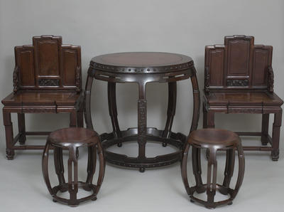 Furniture: Table and Stools
