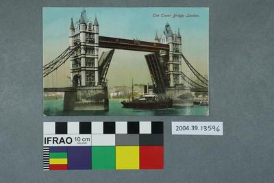 Postcard: The Tower Bridge, London