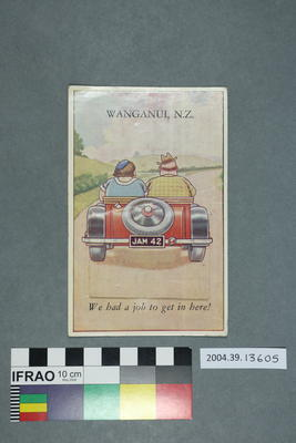 Postcard: Wanganui, NZ