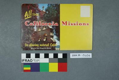 Lettercard: All The California Missions