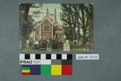 Postcard: Okehampton Church