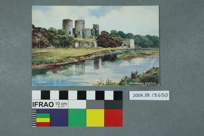 Postcard: Rhuddlan Castle