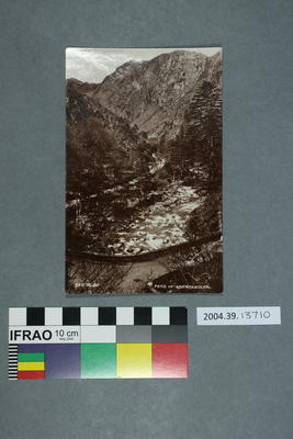 Postcard: Pass of Aberglaslyn