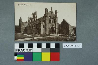 Postcard: Kirkstall Abbey, Leeds