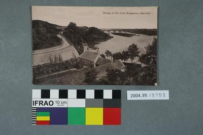 Postcard: Bridge of Don from Balgownie, Aberdeen