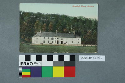 Postcard: Monaltrie House, Ballater