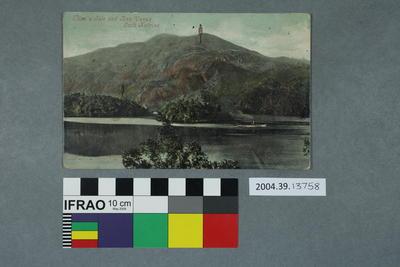 Postcard: Ellen's Isle and Ben Venue, Loch Katrine