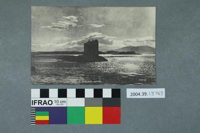 Postcard: Castle Stalker, Appin