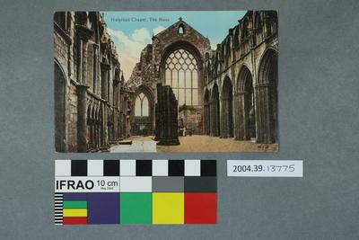 Postcard: Holyrood Chapel, The Nave