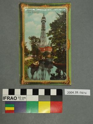 Postcard: Tower and Lake, New Brighton