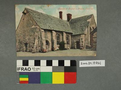Postcard: Thomas A Becket's Palace, Tarring