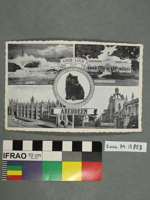 Postcard: Good Luck from Aberdeen