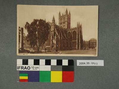 Postcard: Bath Abbey N.E.